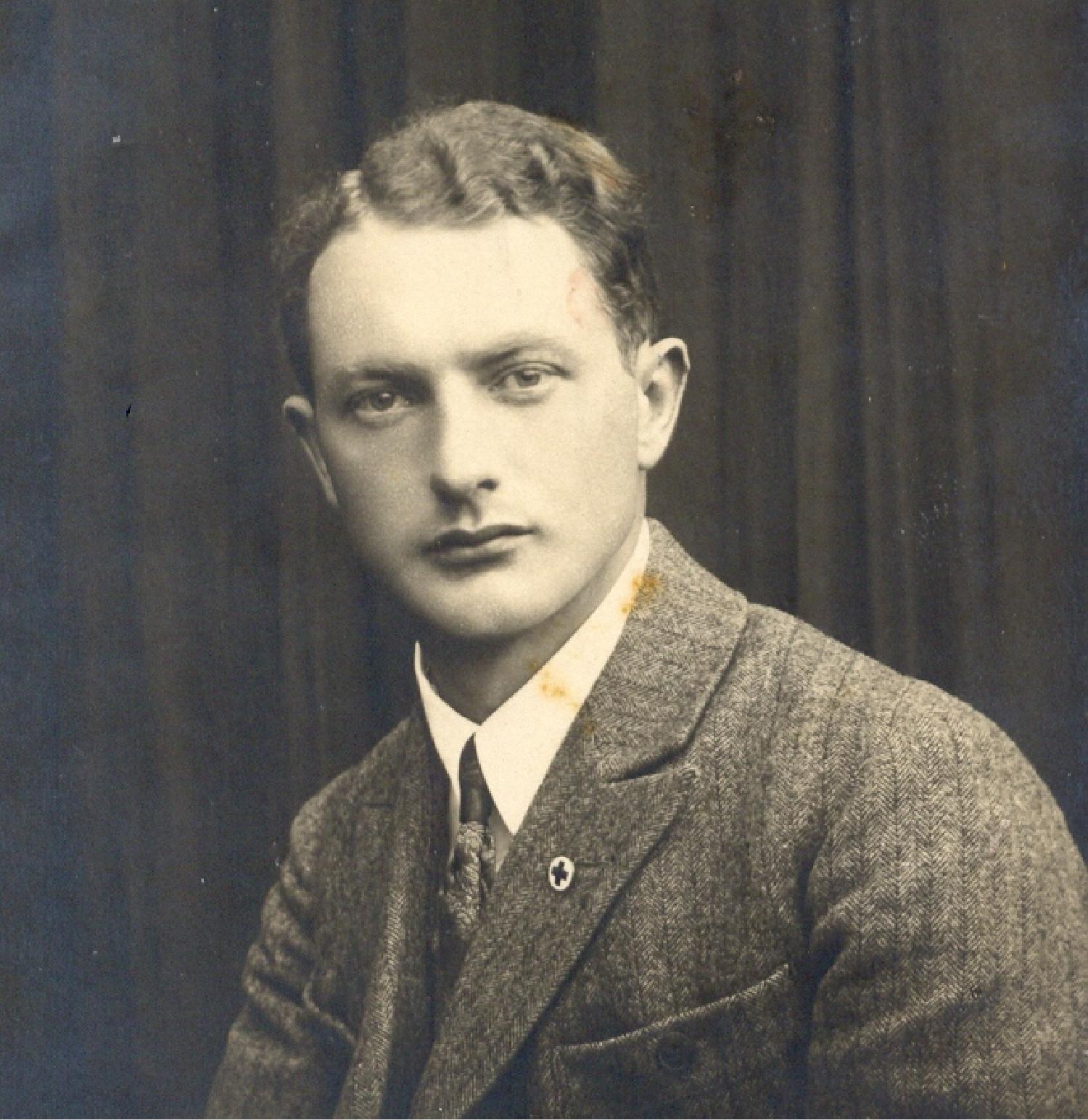 """Kazimierz Lisiecki """"Dziadek"""" zdjęcie czarno-białe, portret"""