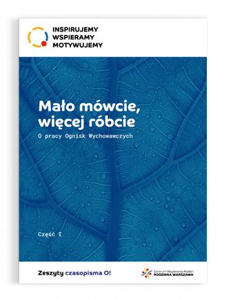 """Okładka publikacji """"Mało mówcie, więcej róbcie"""", tom 1"""
